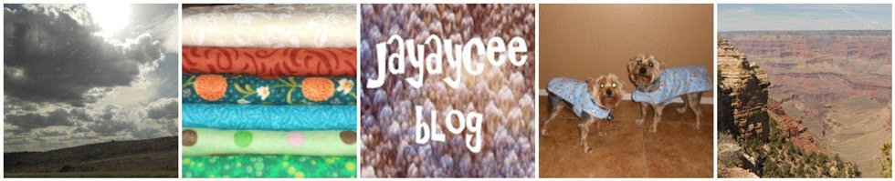 jayaycee blog - about knitting, cooking, crafting, sewing, reading, pets, family & friends